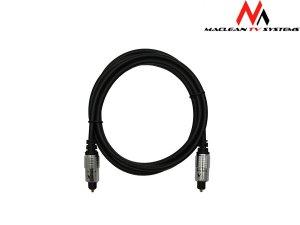 Kabel optyczny Maclean MC-549 3,0 m Toslink-Toslink